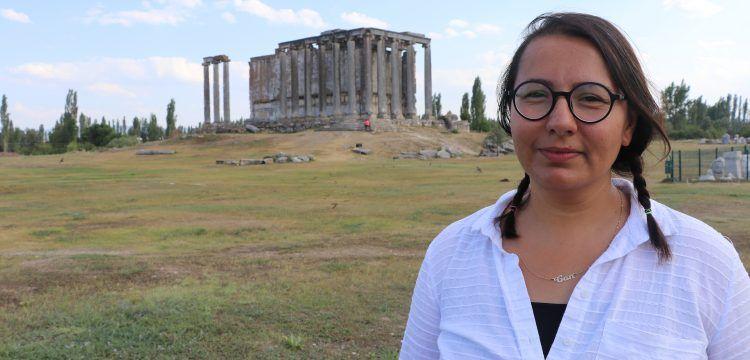 Aizonai Antik Kenti arkeoloji kazılarında Heron bulundu