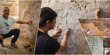 Urartuların 2 bin 700 önce sentetik boya kullandığı keşfedildi