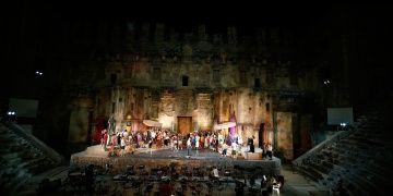 Aspendos Antik Tiyatrosu Opera ve Bale Festivali için hazır