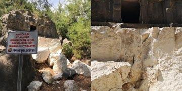 Finike Kaymakamı: Likya dönemi mezarları 7 ay önce patlatıldı