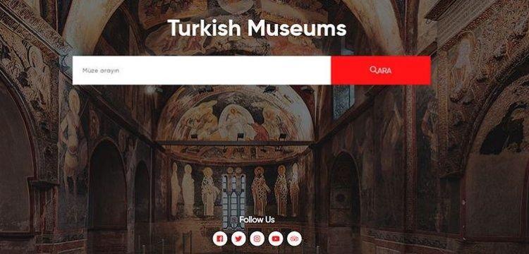 Kültür ve Turizm Bakanlığı Müzeleri için ortak tanıtım sitesi: turkishmuseums.com