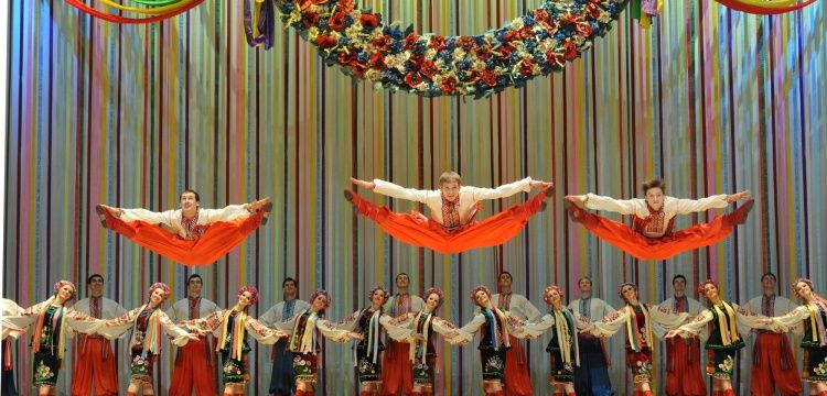 Ukrayna Ulusal Dans Topluluğu Aspendos Sahnesinde