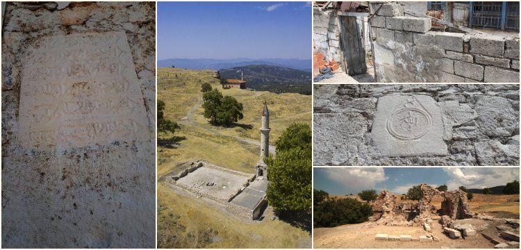 Tabea Antik Kenti'nden devşirilen taşlar duvar duvar aranacak