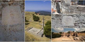 Tabea Antik Kentinden devşirilen taşlar duvar duvar aranacak