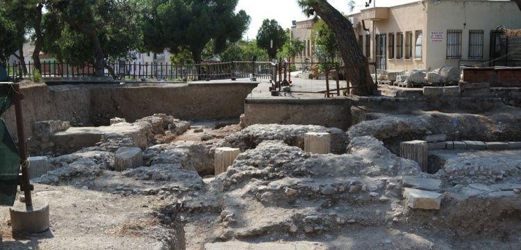 Thyateira Antik Kenti'nde Helenistik ve Roma dönemi tapınağı bulundu