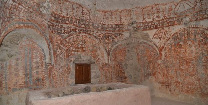 Ertuğrul Gazinin uç beyinin türbesinden eski Orta Asya Türk motifleri çıktı