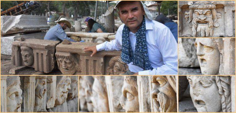 Strakonikeia antik kentinde 2200 yıllık 17 tanrı maskı bulundu