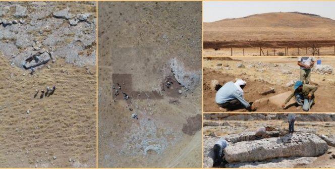 Karahantepe arkeoloji kazılarından ilk görüntüler