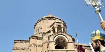 Akdamar Adasındaki Surp Haç Kilisesinde yedinci ayin yapıldı