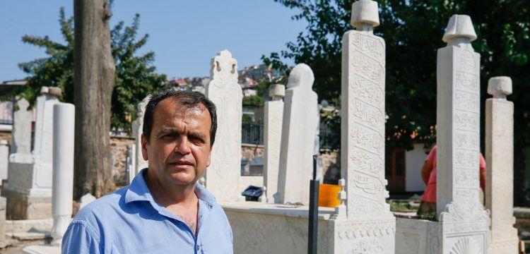 Şehit Süleyman Fethi Bey'in sandukası Emir Sultan Türbesi'ne döndü
