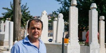 Şehit Süleyman Fethi Beyin sandukası Emir Sultan Türbesine döndü
