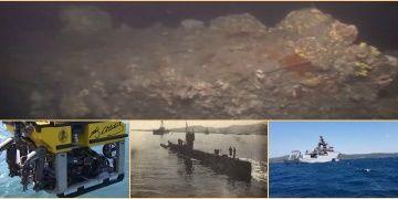 Marmaraya sızmayı başaran İngiliz denizaltısı E7nin batığı görüntülendi