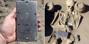 Hun Atlantisinde çıkan arkeolojik bulgu cep telefonuna benzetildi