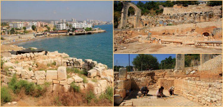 Elaussia Sebaste Antik Kenti'nde 2019 arkeoloji kazıları başladı