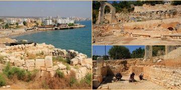 Elaussia Sebaste Antik Kentinde 2019 arkeoloji kazıları başladı