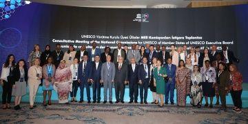 UNESCO Yürütme Kurulu Üyesi Ülkeler İstanbulda toplandı