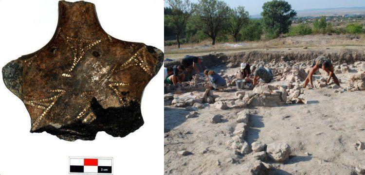Varna'da 6.600 yıllık seramik kadın heykeli bulundu