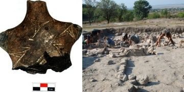 6600-year-old ceramic woman figurine Found in Varna in Bulgaria