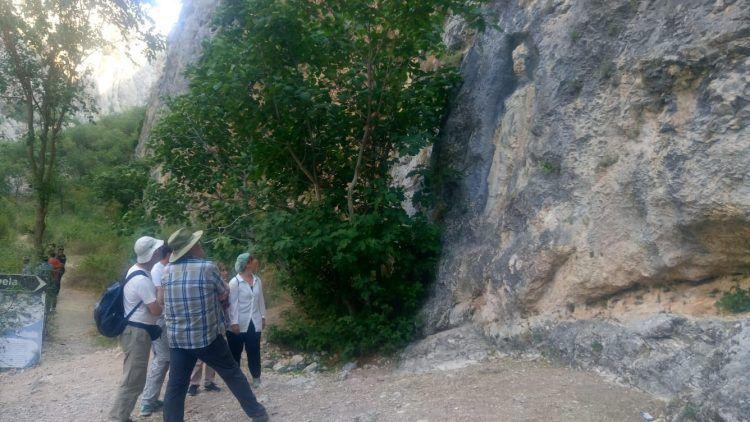 Anadolu'nun en büyük Kybele kabartması Çorum'da İncesu Kanyonunda