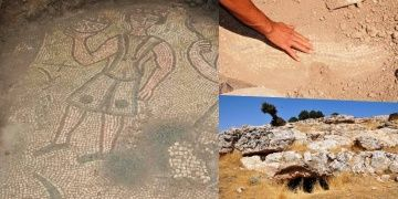 Byzantine-era mosaic found in Mardin by illegal excavation