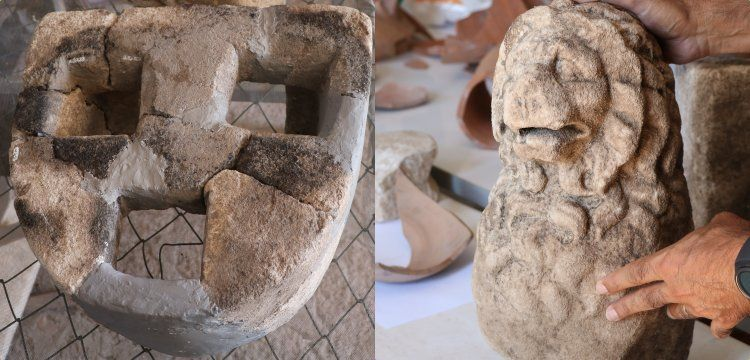 2,200-year-old lion statue found ancient city of Assos