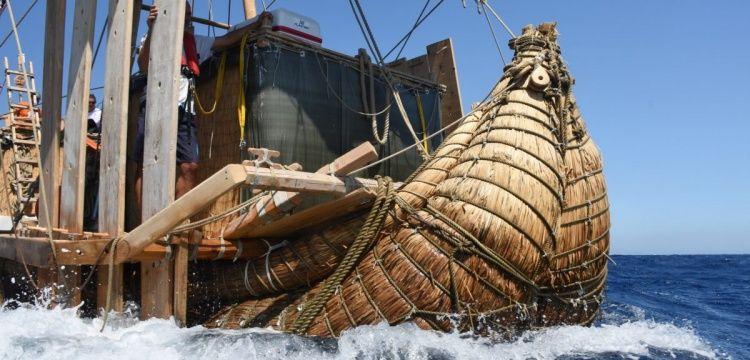 Papirüsten antik gemi replikası Abora-IV Türkiye'ye hediye edilecek