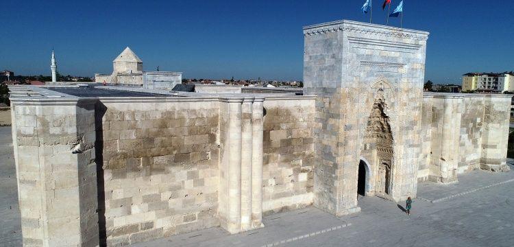 Sultanhanı Kervansarayı'ndaki restorasyon bitmek üzere