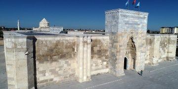 Sultanhanı Kervansarayındaki restorasyon bitmek üzere