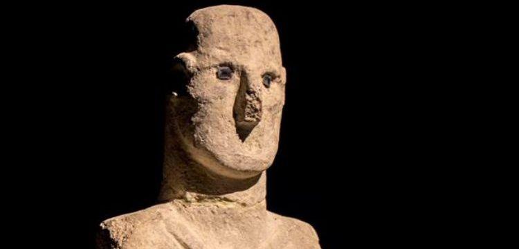 Karahantepede Urfa Adamına benzer bir heykel bulundu