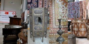 Cilvegözünde yakalanan tarihi eserler Iraka iade edildi