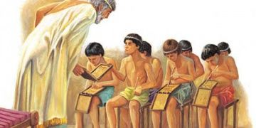 Antik Yunanda çocukların eğitiminde kız ve erkek ayrımı vardı
