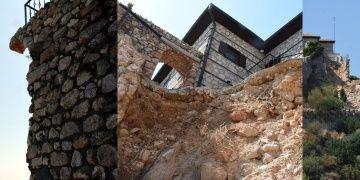 Alanyada sur duvarı yıkan ev tadilatı için suç duyurusu yapıldı