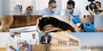 Mısırda 2 mumya meraklı gözler önünde açıldı