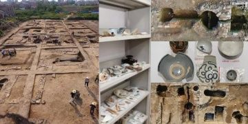 The largest the ruins of an ancient distillery discovered in China
