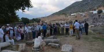 Limyra arkeloji kazılarının 50. yılı kutlandı