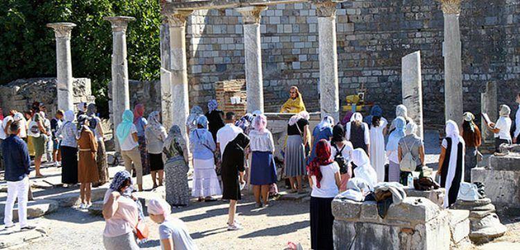 Rus Ortodokslar Efes Antik Kenti'nde yılda 4 kez ayin düzenleyecek