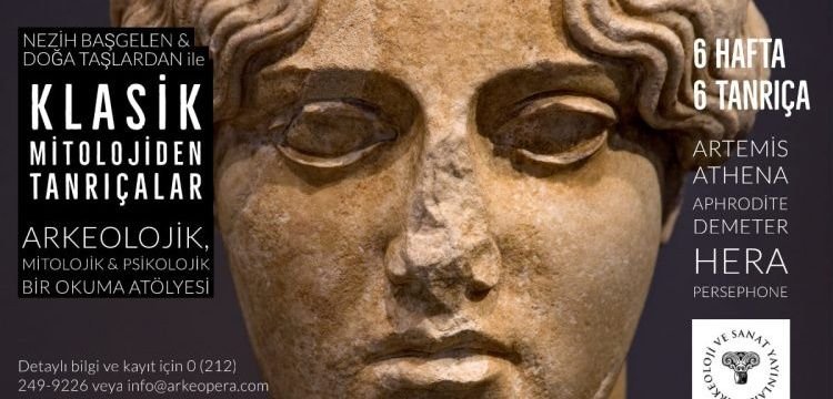 Tanrıçaların arkeolojisi ve arketiplerinin irdeleneceği atölye etkinliği