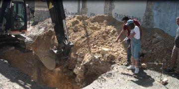 Kahramanmaraşta bir arkeolog yasal define kazısına başladı