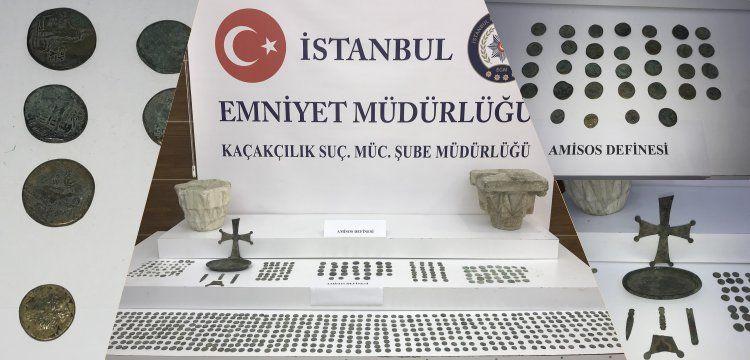 Amisos Hazinesi İstanbul'daki operasyonla ele geçirildi