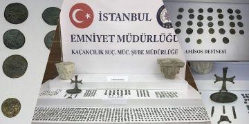 Amisos Hazinesi İstanbuldaki operasyonla ele geçirildi
