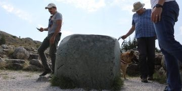 Hattuşanın gizemli Yeşil Kayasını Hititler hiç kullanmamış olabilir