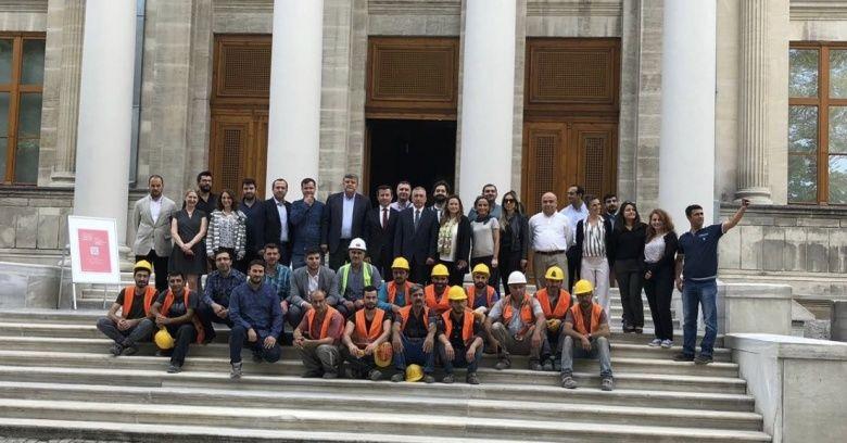 İstanbul Arkeoloji Müzeleri'nin tadilatı biten kısmı ziyarete açıldı