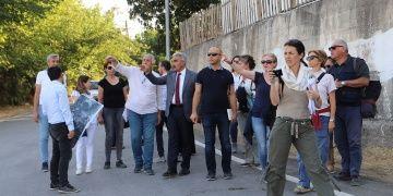ICOMOS heyeti UNESCO raporu için Arslantepe Höyüğünü ziyaret etti