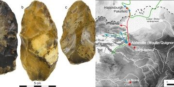 The first evidence of Acheulian occupation in northern France