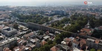 Bozdoğan Kemeri restore edilirken Bizans ve Osmanlı eserleri bulundu
