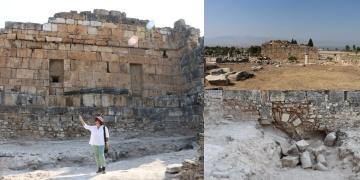 Romalı mühendisler kutsal çeşmeyi depremden kurtarmayı başarmış