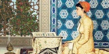 Osman Hamdi Beyin Kuran Okuyan Kız tablosu Londrada satıldı