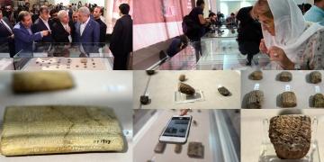 ABDye kaçırılan 1783 Ahameniş tableti İrana iade edildi