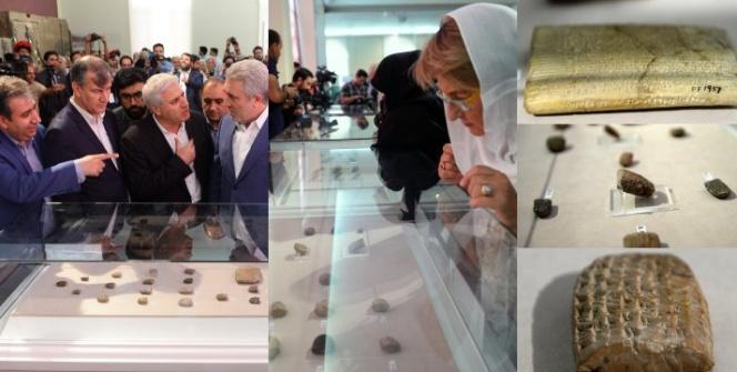 ABD, Persepolisten kaçırılan tarihi eserleri İrana iade etti