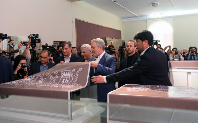 ABD, Persepolis'ten kaçırılan tarihi eserleri İran'a iade etti